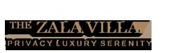 The zala villa bali logo